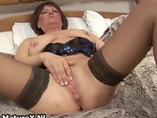 nasty elderly lady into sexy panties banging part4