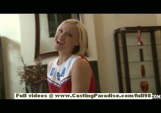 jasmine jolie non-professional blond cheerleader