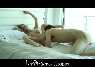 puremature wife in underware receives drilled and
