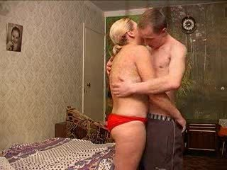 russian woman with man