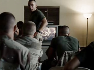 cuckold soldier watches his woman acquiring banged