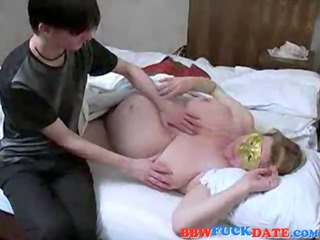 amateur russian woman and son have fuck