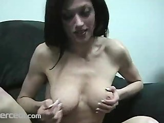 lady dillan lauren gives a sloppy blow jay