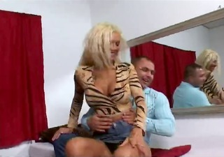 sexy golden-haired euro mother i melissa banging