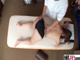 super sexy japanese lady own gang-banged tough