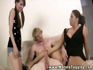 curvy cougar wacking off daughters boyfrien