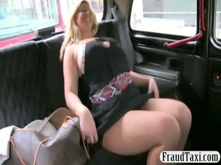 desperate amateur milf cum jizzed by the taxi