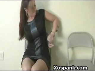 extreme worshiping bdsm girl spanked slutty