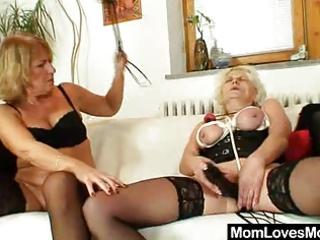 bdsm lady copulates elderly