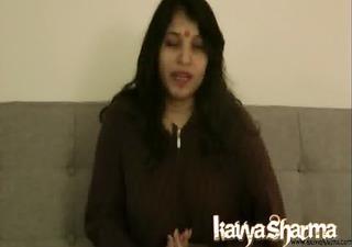kavya sharma gujrati indian babe giving her