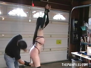 tattooed cougars woman bondage and maiden spanking